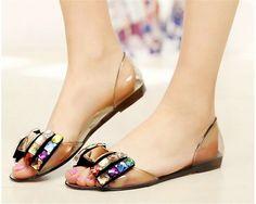 e5e0e695654a7d Open Toe Beauty. Women s Jelly SandalsJelly ShoesCute ...