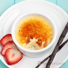 Vanilla Bean Creme Brulee. So Creamy and Smooth. You can easily make it WAY better than the restaurants yourself.