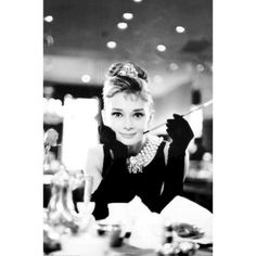 Audrey Hepburn - the epitome of class and sophistication!