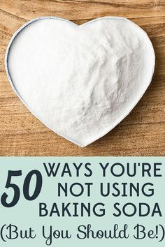 50 Uncommon Uses for Baking Soda