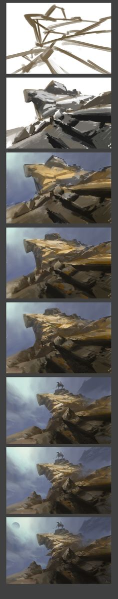 ArtStation - Practice and Painting process, ling xiang