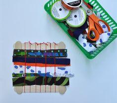 Art with Kids: Simple Weaving