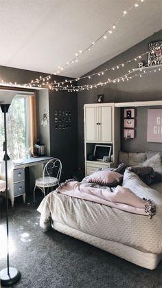 VSCO - 💡 | brifleek Next Bedroom, Room Decor Bedroom, Teen Room Decor, Diy Room Decor, Closet Bedroom, Bedroom Inspo, Home Bedroom, Modern Kids Bedroom, Cute Bedroom Ideas