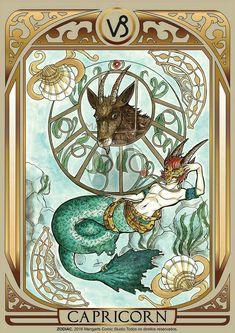 Print art with Capricorn male of ZODIAC project developed by Mangarts Comic Studio. Capricorn Art, Capricorn Women, Zodiac Signs Astrology, 12 Zodiac Signs, Capricorn Female, Anime Zodiac, Zodiac Art, Tarot, Moon Signs