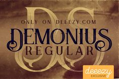 Demonius Regular Font – Deeezy – Freebies with Extended License