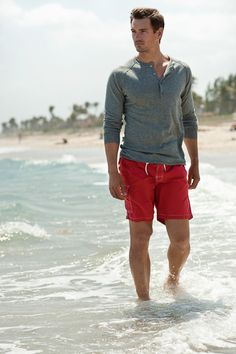 The henley shirt: one of our stylists' favorite things.