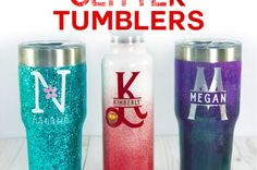 Glitter Tumbler Tutorial Step by Step From Start to Finish Ikea Craft Room, Craft Room Storage, Glitter Crafts, Glitter Decorations, Glitter Glasses, Paper Organization, Organizing, Fabric Labels, Hardanger