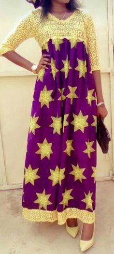 African Maxi Dresses, Ankara Dress, African Attire, African Wear, African Women, African Clothes, Afro, Nigerian Dress, Robes Glamour