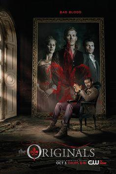 Rebekah (Claire Holt), Elijah (Daniel Gillies), Klaus (Joseph Morgan), Marcel (Charles Michael Davis)