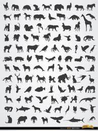 """Résultat de recherche d'images pour """"silhouette animaux"""""""