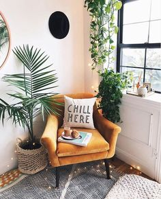 The Nordroom - The Plant-Filled Brooklyn Apartment of Viktoria Dahlberg furniture living room Interior Design Living Room, Living Room Decor, Bohemian Living Rooms, Room Interior, Living Room Designs, Dining Room, Brooklyn Apartment, Aesthetic Room Decor, Home And Living