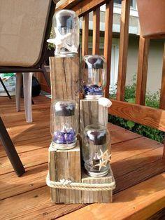 mason jar solar light, crafts, lighting, mason jars, outdoor furniture