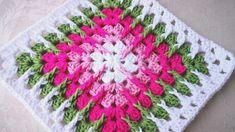 Transcendent Crochet a Solid Granny Square Ideas. Inconceivable Crochet a Solid Granny Square Ideas. Motifs Granny Square, Crochet Motifs, Crochet Blocks, Granny Square Crochet Pattern, Crochet Squares, Crochet Stitches, Free Crochet, Crochet Patterns, Granny Squares