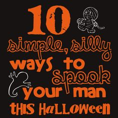 Simple, Fun ideas for Halloween