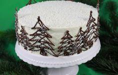 Weihnachtstorte Christmas Cake Kokos Cocos