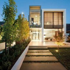 Modernes Einfamilienhaus in Melbourne | stylondo.com - die Nr. 1 für Ihr Zuhause - Hausbau, Einrichten, Architektur und Interior Design