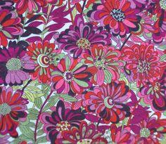 Liberty Tana Lawn fabric WILLOW ROSE PURPLEFat by ZuzusCrafts