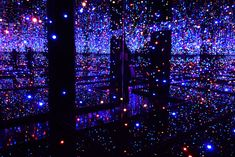 """Infinity Mirror Room – Filled with the Brilliance of Life"" by Yayoi Kusama at Tate Modern in London, starting today"