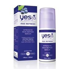 Yes to Blueberries Intensive Skin Repair Serum; nice anti aging serum for under $20