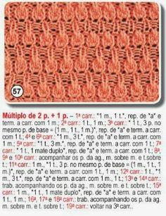 Receita de Tricô: Pontos de trico