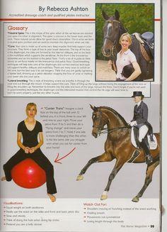 The Horse Magazine Exercise Series Exercise 4: Pelvic Mobility