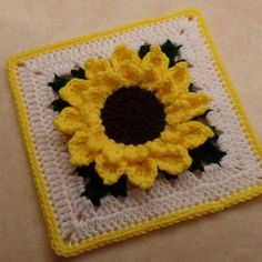 Crochet Shamrock pattern / Four leaf Clover St. Patricks Day | Etsy Granny Square Häkelanleitung, Granny Square Crochet Pattern, Crochet Blanket Patterns, Crochet Granny, Crochet Baby, Crochet Squares, Granny Squares, Easy Crochet, Crochet Sunflower