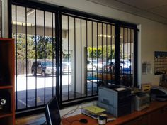 Security & Safety Tint - One-way mirror window tint discourages break-ins and reduces heat in the room. Great for home window tinting and office window tinting. Tinted House Windows, Frosted Window Film, Window Films, Window Mirror, Home Office, Toronto, Room, Safety, Furniture