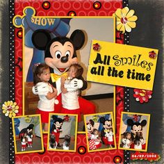 Mickey - MouseScrappers.com