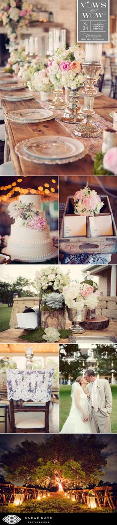 Adorable rustic vint