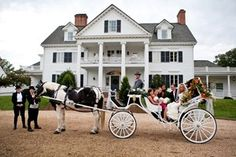 The Inn at Warner Hall is a full service, 11 bedroom Country Inn located on the original plantation of George Washington's great-great grandfather. The Inn is located on the Severn River, amidst 38 acres of trees, gardens and pasture land. Thirty minutes from Colonial Williamsburg and one hour from Richmond/Norfolk. Perfect for weddings. #loveva #vaweddings