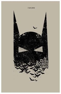 The Dark Knight Rises 11x17 inch poster by TheArtOfAdamJuresko, $22.00