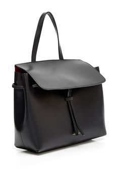 f785ea151c Black Flamma Calf Leather Mini Lady Bag by MANSUR GAVRIEL Now Available on  Moda Operandi Smooth