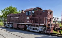 https://flic.kr/p/uh6mrA | Rock Island N0. 743 | This historic locomotive is on display at the Oklahoma Railway Museum in Oklahoma City.