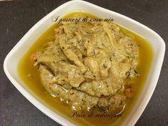 Pesto di melanzane ottimo condimento per pasta o riso ma anche sulle bruschette o sulle friselle. Facile e veloce da realizzare
