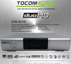 Tocomsat Duo HD suporte Wi-Fi IKS - SKS