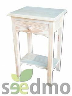 #Muebles y #decoración mesita auxiliar de un cajon por tan solo 52,30 euros #lowcost compra Online.
