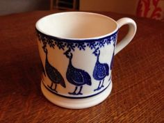 Emma Bridgewater GUINEA FOWL baby mug