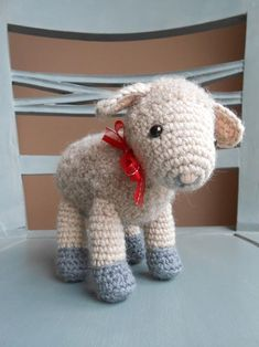 Sofie and Lucie little lambs amigurumi crochet pattern by Little Wooly Creations ༺✿ƬⱤღ✿༻