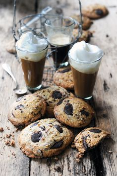 chocOlate caramelized walnut cookies