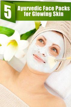 5 Ayurvedic Face Packs for Glowing Skin
