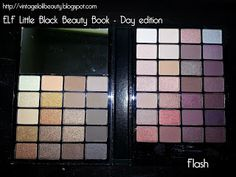 ELF Little Black Beauty Book - Day Edition is a $5 dupe for almost all the shades in ALL THREE Naked palettes!!