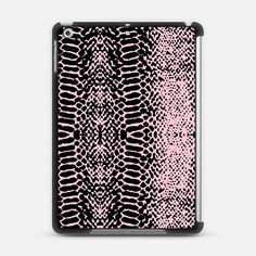 Check out my new @Casetify using Instagram & Facebook photos. Make yours and get $10 off using code: WTMAF6 sweet snake iPad Air case by Julia Grifol designs. Surface pattern designer.   Casetify#pink #design #pattern #ipad #case #casetify #black