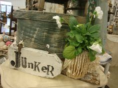 Stop by Nostalgia's Cottage...at The Vintage Marketplace - always a junker's adventure!  (Junk redesigned and reused - for you, your home and garden)