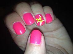 Shellac summer nails