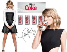 Diet Coke just tastes so much better now that Taylor sponsors it. Lol