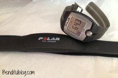 Training with a heart rate monitor Polar FT-1