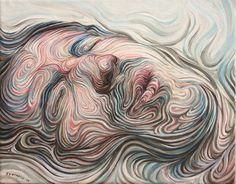 Swirled Self Portraits by Nikos Gyfaktis