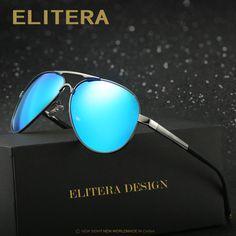 36c90ad92d5 ELITERA Brand Polarized Sunglasses Men Male Polaroid Sun Glasses Brand  Design Fishing Driving Sunglasses Goggle Classic