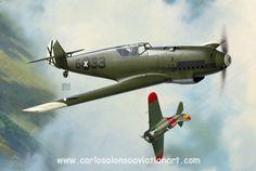 Messerschmitt Bf 109B Eckehadt Priebe, Villafamés (Castellón, Spain), early June 1938.