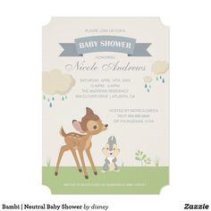 Bambi | Neutral Baby Shower